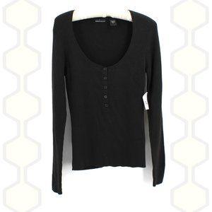 🐝 3/$25 MODA International Sweater Long Sleeve L